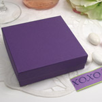 Purple Favor Box