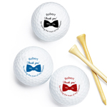 Raising the Man Personalized Golf Balls - 18 pieces