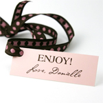 Rectangle Personalized Hang Tags