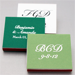 Riviera Personalized Matchboxes