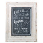 Seating Sign Frame (Chalk Style)
