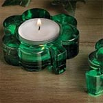 Shamrock Candle Holder Favors