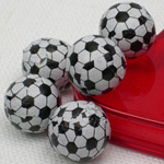 Soccer Ball Chocolate Wedding Favors - 1 lb