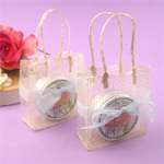 Square Sinamay Favor Bags - 10 pieces