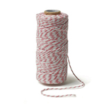 Striped Cotton Bakers Twine - 109 yards