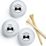 Suit Up Be My Groomsman Personalized Golf Balls - 18 pcs