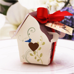 Sweet Bird House Favor Box - 12 pcs