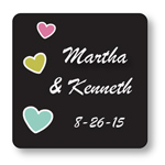 Sweet Nothings Chalkboard Personalized Labels - 20 pieces