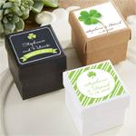 Irish Personalized Favor Box - 24 pcs