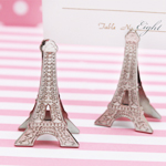 Eiffel Tower Place Card Holder Clips