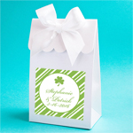 Irish Personalized Scalloped Favor Bags
