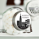 New York Personalized Mini Candy Jar
