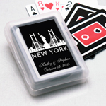 New York Personalized Playing Cards