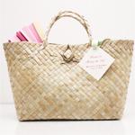 Palm Leaf Handle Bags