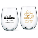 Personalized Stemless Wine Glass - Exclusive