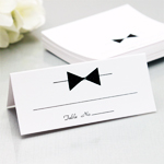 Tuxedo Place Cards - 50 pcs