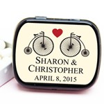 Vintage Bicycle Personalized Mint Tins