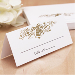 Wedding Bells Blank Place Cards - 50 pcs