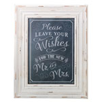 Wishes Sign Frame (Chalk Style)