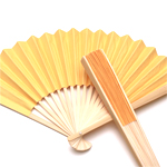 Yellow Paper Hand Fans