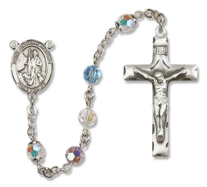 St. Anthony of Egypt Multi-Color Rosary