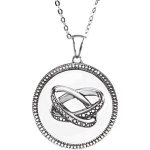 Sterling Silver Marriage Pendant & Chain