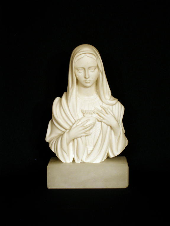 Immaculate Heart of Mary Bust by Giannelli