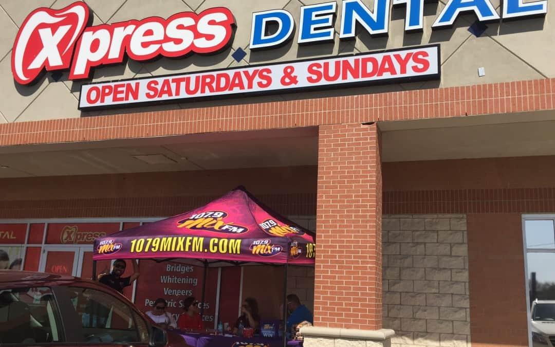 Express Dental & 107.9 Mix FM