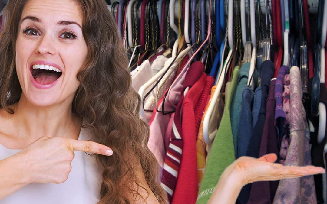 Is this your closet? The Average Woman Has 103 Things in Her Closet, and Never Wears Most of Them
