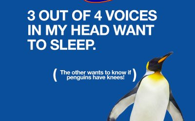3 out of 4 voices in my head want to sleep
