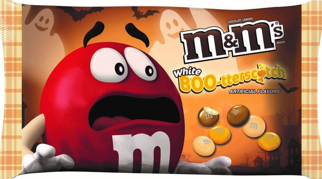 The M&M Halloween Flavor This Year Is Butterscotch