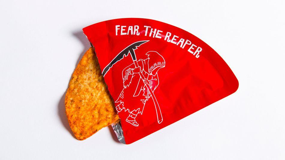 The World's Spiciest Tortilla Chip Is Going on Sale . . . and There's Just One Chip in the Package