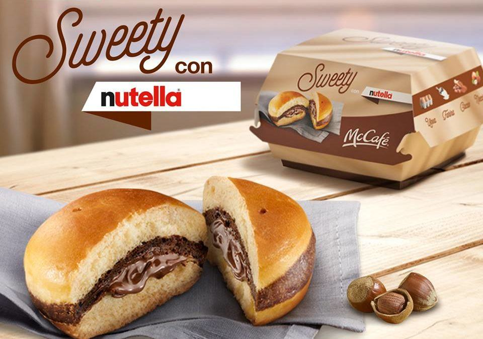 Behold! McDonald's Has Created a Nutella Burger