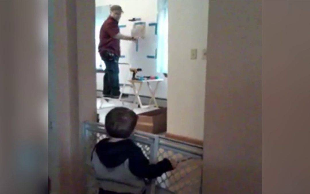 VIDEO: Dad 'Argues' With a Toddler . . .