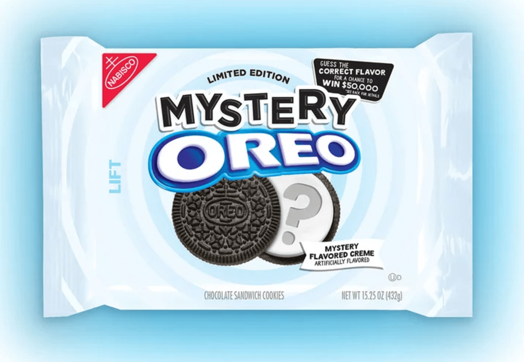The Newest Oreo Flavor Is . . . a Mystery, and They'll Give You ,000 If You Guess It