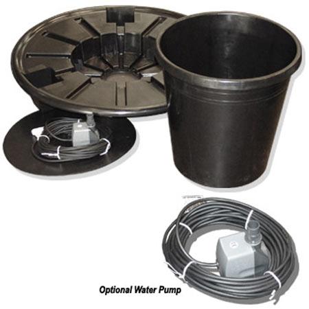 Wallcharm Pebble Pool with Optional Pump