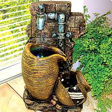 Kelkay Jug and Tap Indoor Water Feature