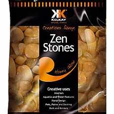 Kelkay Polished Zen Stones Honey Glow