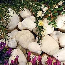 Kelkay Pearl White Cobbles Bulk Bag