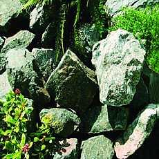 Kelkay Forest Green Rockery Stone Bulk Pallet