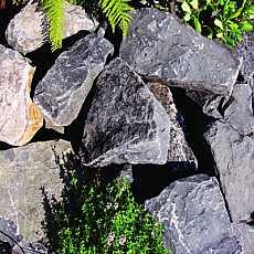 Kelkay Black Mountain Rockery Stone Bulk Pallet