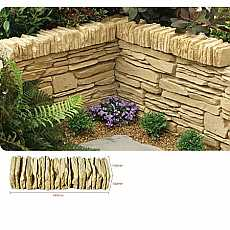 Kelkay Daleside Walling, Coping or Edging Stone York Gold (48 Pieces)