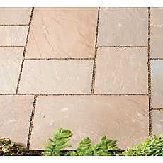 Sienna Stone Natural Paving Project Crate (12.70 Sq Metre)
