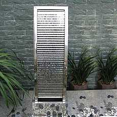 Manila Stainless Steel Fountain (Curve Shaped)