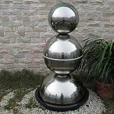 Singapore Stainless Steel Fountain Water Feature
