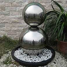 Hamburg Stainless Steel Fountain Water Feature