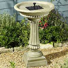 Smart Solar Winchester Solar On Demand Garden Water Feature BirdBath