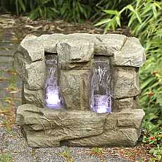 2 Fall Wide Sandstone Water Feature