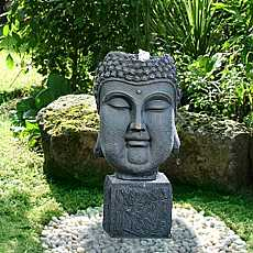 Bubbling Buddha Head Water Feature