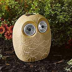 Bright Eye Stony Large Owl by Smart Solar